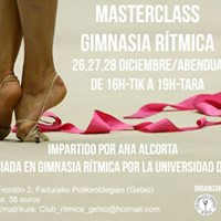 Masterclass de gimnasia rtmica con Ana Alcorta