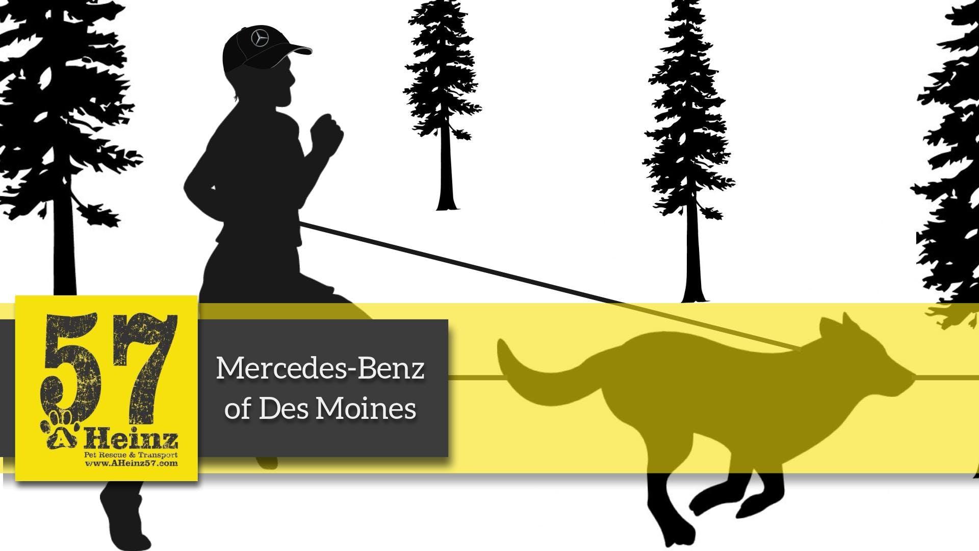 Mercedes Benz AHeinz57 5K   Rescheduled
