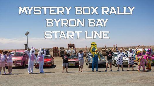 Mystery Box Rally 2019 Start Line