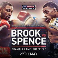 Brook v Spence IBF Welterweight World Championship