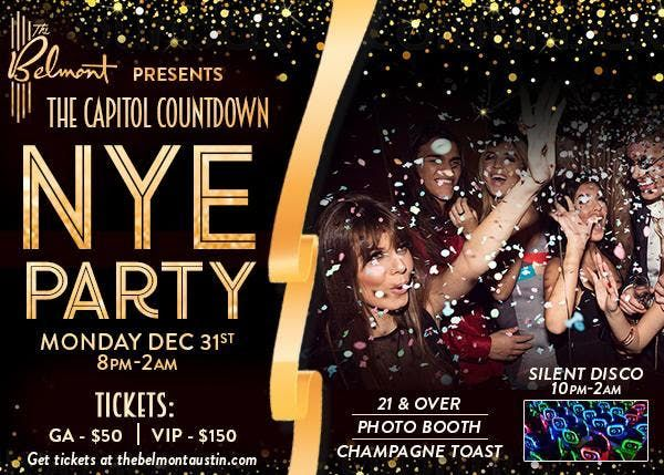 The Capitol Countdown at The Belmont - New Years Eve Party 2019