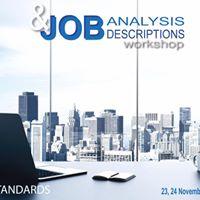 Job Analysis &amp Job Descriptions Workshop