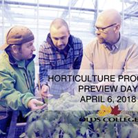 Olds College Horticulture Program Preview Day