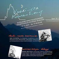 Vuori-ilta - Mountain Evening