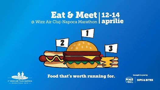 Eat and Meet at Wizz Air Cluj-Napoca Marathon 2019