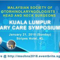 Kuala Lumpur Primary Care Symposium 2018