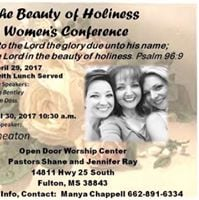 Beauty of Holiness Womens Conference