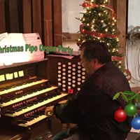 First annual pipe organ Christmas party fundraiser
