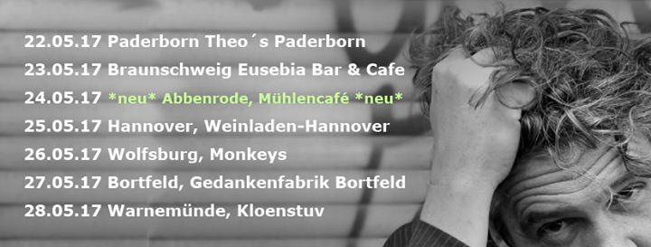Bernd Klanke Im Muhlencafe Abbenrode At Abbenroder Muhlencafe