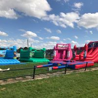 Inflatable fun day