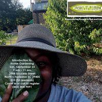 Intro to Home Gardening