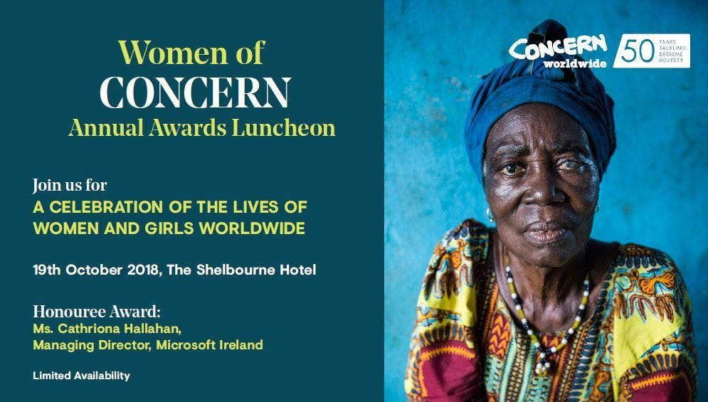Women of Concern Annual Awards Luncheon 2018