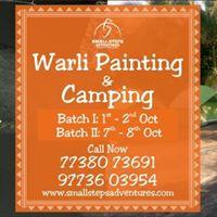 Warli Painting and Camping at Dahanu Farm on 01st Oct17