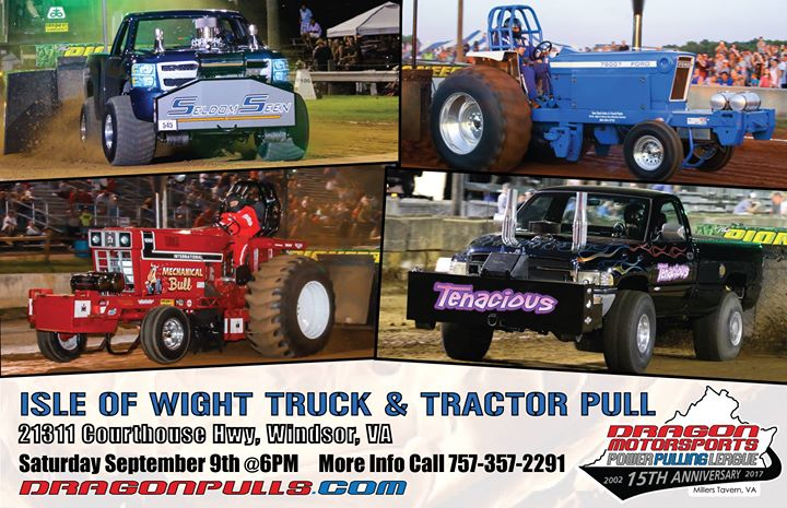 Isle of Wight Truck & Tractor Pull   Windsor