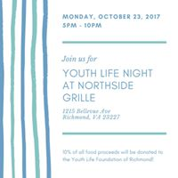 Northside Grille 10% Night for YLFR