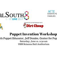 Puppet Invention Workshop with Jeff Domke