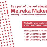 Me.reka Equity Crowdfunding Campaign - Sharing Session 3