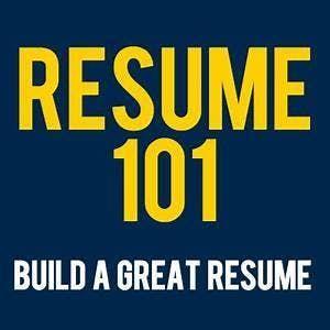 Resume 101 At The Center Wichita