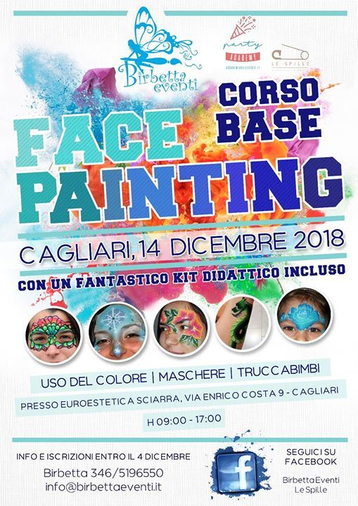 Corso Face Painting Base