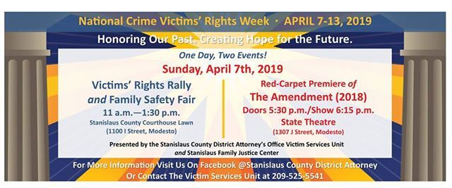 Victims Rights Rally & Family Safety Fair