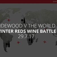 Sidewood Winter Reds Wine Battle Degustation