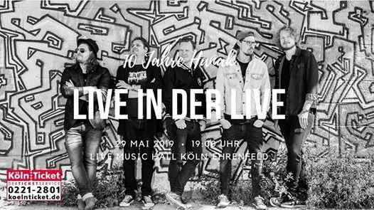 LIVE IN DER LIVE - 10 Jahre HANAK das Jubilumskonzert