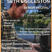Seth Eggleston Senior Recital