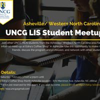 Asheville Western North Carolina LIS Student Meet-up