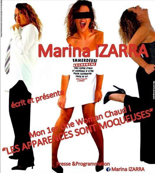 Marina Izarra Les apparences sont moqueuses Wonder Pipelettes