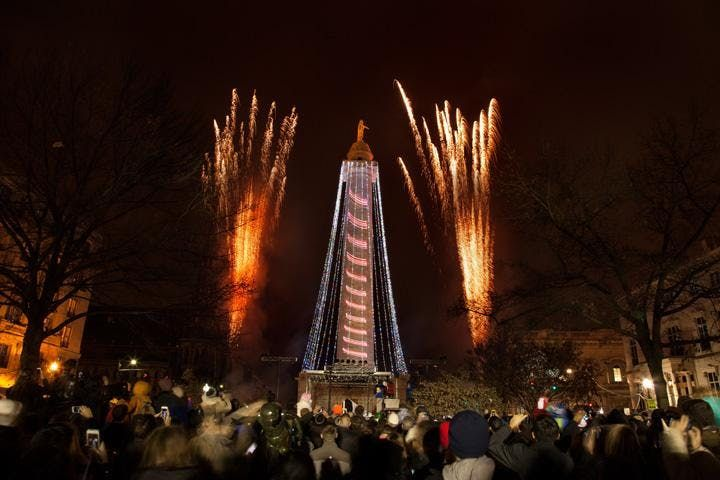 47th annual Downtown Partnership Monument Lighting