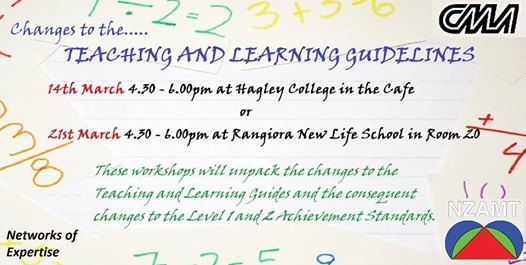 Teaching and Learning guidelines Sessions