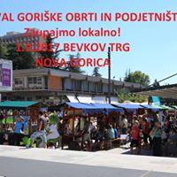 Festival gorike obrti in podjetnitva - sekcija trgovcev