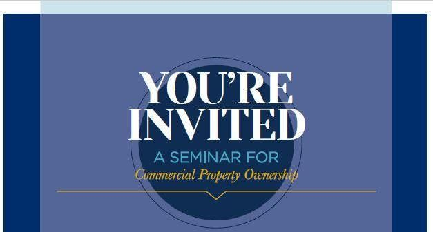 Commercial Property Ownership Seminar
