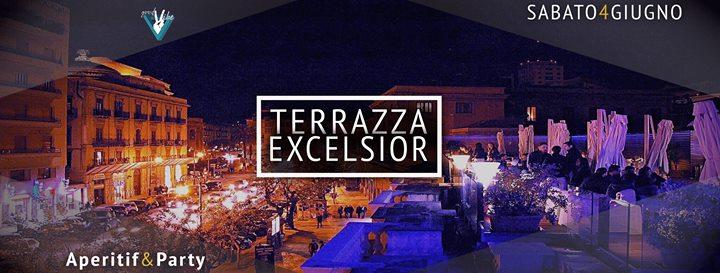 Sabato 04 Giugno -Terrazza Excelsior- Aperitif&Party | Palermo