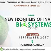 International Conference on Microbial Ecology &amp Eco Systems