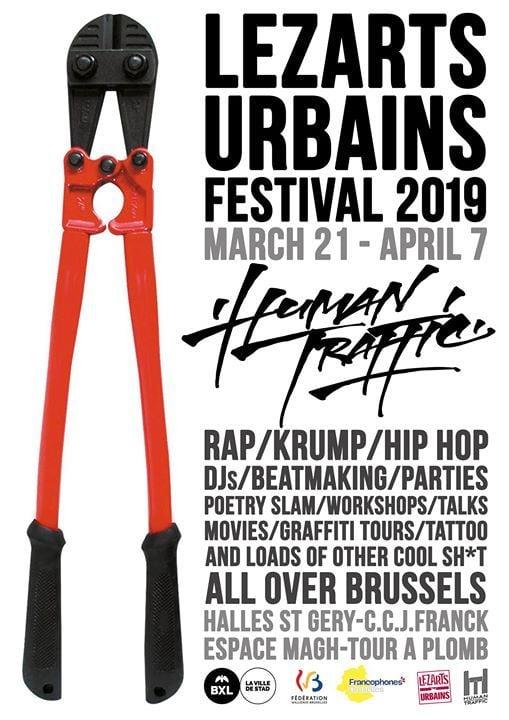 Festival Lezarts Urbains 2019 HumanTraffic