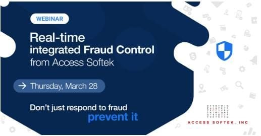 Webinar Real-time integrated Fraud Control March 28