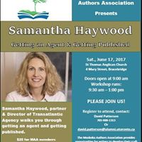 Workshop withLiterary Agent Samantha Haywood