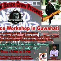 Hypnotics Crew-India  WORKSHOP IN GUWAHATI