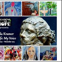 My Life My Voice by Linda Kramer Opening Friday Oct. 6