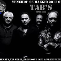 Tabs live at Railways Risto Pub Frosinone