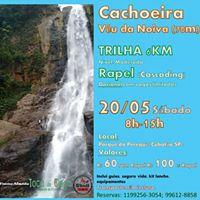 Trilha E Cascading (Rapel) Cachoeira Vu da Noiva - Perequ
