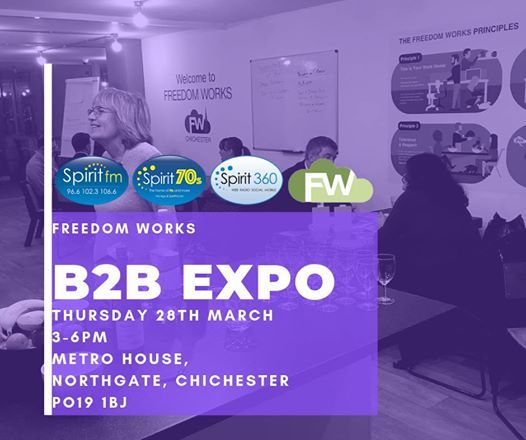 Freedom Works B2B expo and Launch Meeting