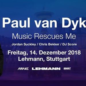 Paul van Dyk in Stuttgart Music Rescues Me Tour