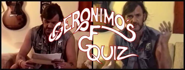 Music quiz 67 I Geronimos FGT I Onsdagen den 24 januari