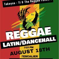 Latin Reggae Dancehall Night