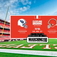 Browns Game w the Marching 110