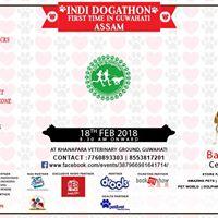 The INDI Dogathon - Assam Edition 2018