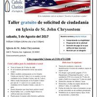 Taller gratuito de solicitud de ciudadania