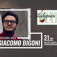 Giacomo Bigoni Extreme Guitar Solo Live - Shakespeare